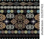 ethnic seamless pattern. ethno... | Shutterstock .eps vector #312537422