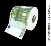 Fine 3d Illustration Of Toilet...