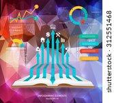 abstract creative concept... | Shutterstock .eps vector #312551468