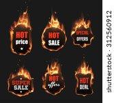 Fire Labels Set