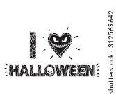 halloween | Shutterstock .eps vector #312569642