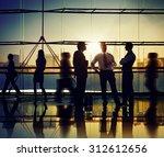 business people meeting... | Shutterstock . vector #312612656
