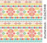 ethnic seamless pattern. ethno...   Shutterstock .eps vector #312625448