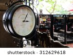 clock retro old time | Shutterstock . vector #312629618
