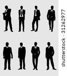 modern men 1 | Shutterstock .eps vector #31262977