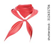 Pioneer Tie Isolated On White...