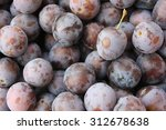 plums | Shutterstock . vector #312678638