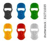mask set   Shutterstock .eps vector #312711035