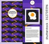webpage  blog or presentation... | Shutterstock .eps vector #312735596