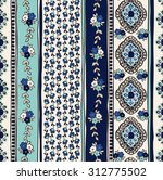 seamless paisley background.... | Shutterstock .eps vector #312775502