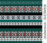 tribal art boho seamless... | Shutterstock .eps vector #312782918