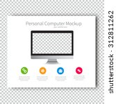 infographic mockup device...