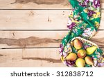 organic seasonal pear in the... | Shutterstock . vector #312838712