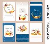 vector collection of labels and ... | Shutterstock .eps vector #312848825
