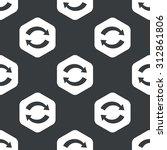 image of exchange symbol in... | Shutterstock . vector #312861806