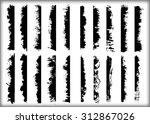 grunge brush strokes .grunge...   Shutterstock .eps vector #312867026
