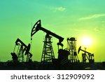 the oil pump     Shutterstock . vector #312909092