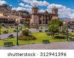 cuzco  peru  panoramic view of... | Shutterstock . vector #312941396