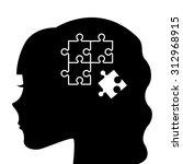 think concept design  vector...   Shutterstock .eps vector #312968915