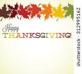 Maple Leaf Thanksgiving Card I...
