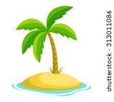 island | Shutterstock .eps vector #313011086