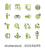 business opportunities icons    ... | Shutterstock .eps vector #313156295