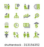 business and finance icons   ... | Shutterstock .eps vector #313156352