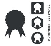 certificate icon set ...