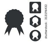 certificate icon set ...