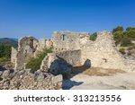Castle Walls Above Saint...