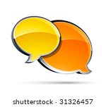 chat box | Shutterstock .eps vector #31326457
