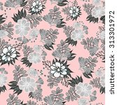 seamless pattern. colorful... | Shutterstock .eps vector #313301972
