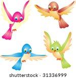 birds vector | Shutterstock .eps vector #31336999