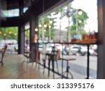 blurred background   bar stool...   Shutterstock . vector #313395176