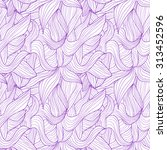 Seamless Pattern Of Purple...