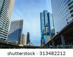 building modern business area   ...   Shutterstock . vector #313482212
