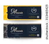 gift voucher premier color | Shutterstock .eps vector #313485425