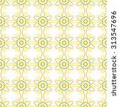 vector seamless pattern. modern ... | Shutterstock .eps vector #313547696