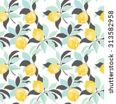 seamless vector pattern with... | Shutterstock .eps vector #313582958