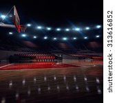basketball court. sport arena.  ... | Shutterstock . vector #313616852