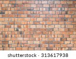 red brick wall | Shutterstock . vector #313617938