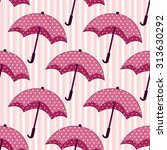 seamless pattern with pink... | Shutterstock .eps vector #313630292