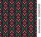 ethnic pattern | Shutterstock .eps vector #313631435