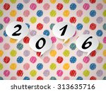 colorful background design with ... | Shutterstock .eps vector #313635716