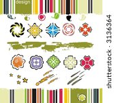 collection of design elements...   Shutterstock .eps vector #3136364