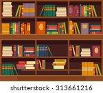 Vector Bookcase Flat...