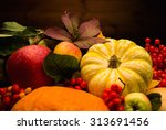 Thanksgiving Day Autumnal Stil...