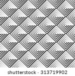 square pattern. seamlessly... | Shutterstock .eps vector #313719902