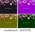 collection backgrounds with... | Shutterstock .eps vector #31372792