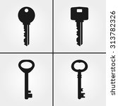 key icons | Shutterstock .eps vector #313782326
